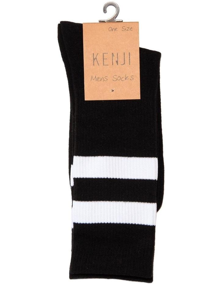 Stripe Sport Sock image 2