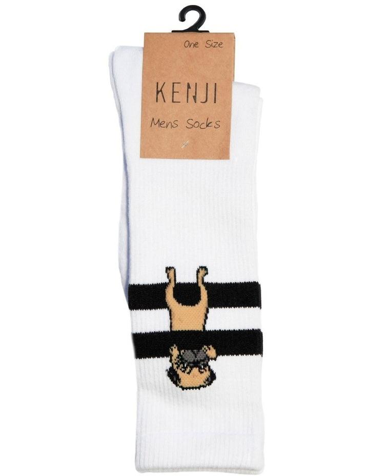 Pug Stripe Sport Sock image 2