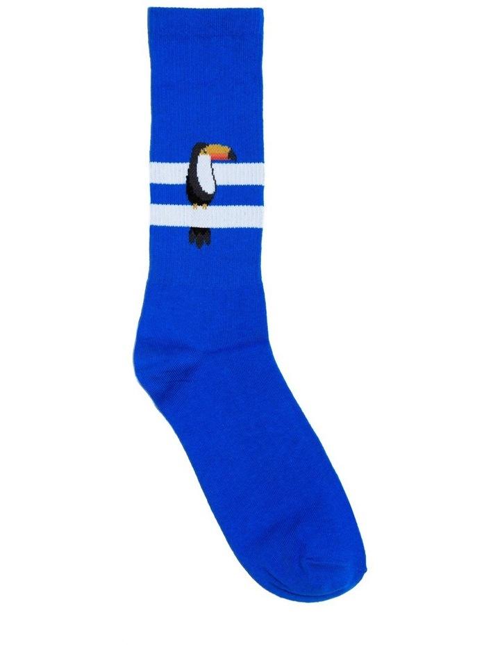 Toucan Stripe Sport Sock image 1