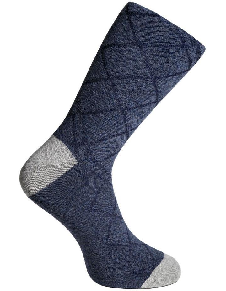 Textured Diamonds Cotton Sock image 3