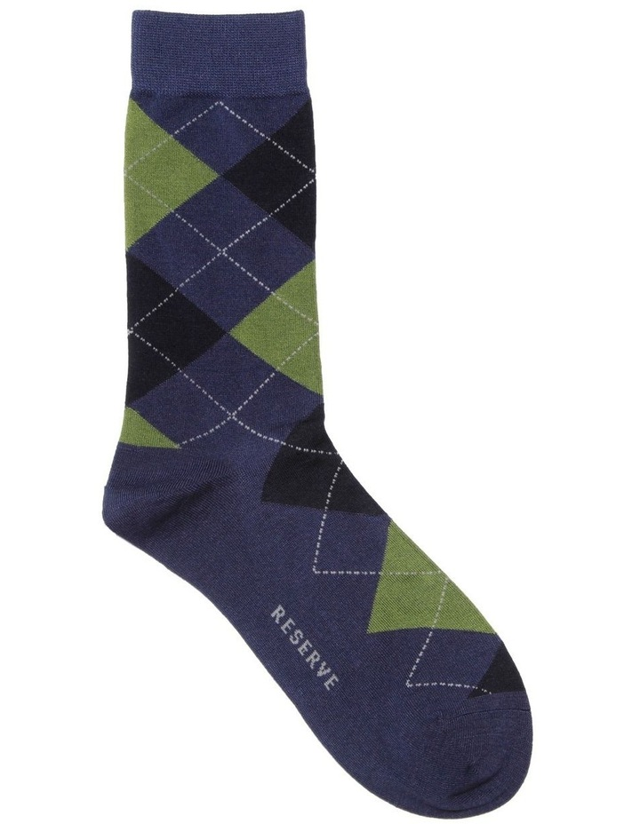 Luxe Argyle Sock image 1