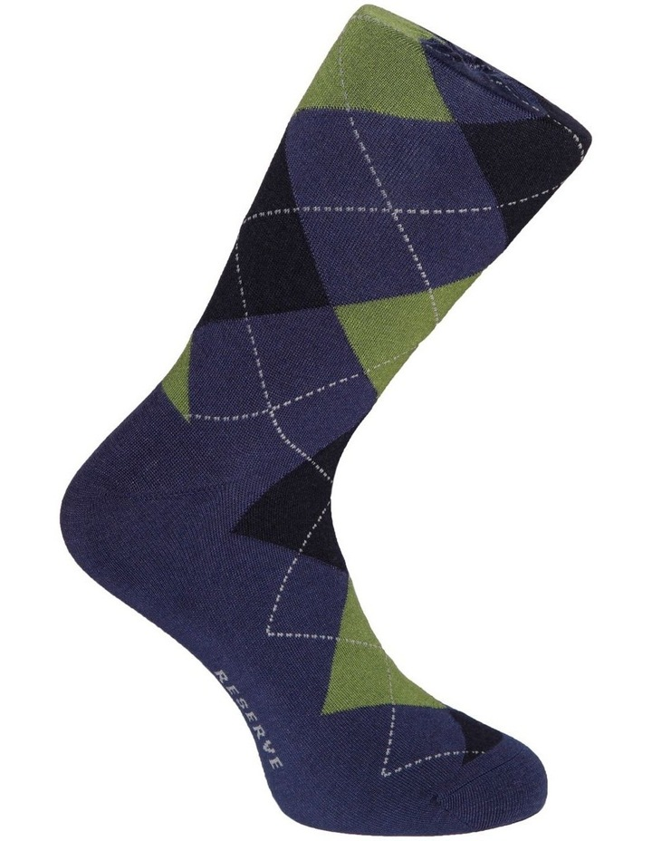Luxe Argyle Sock image 2