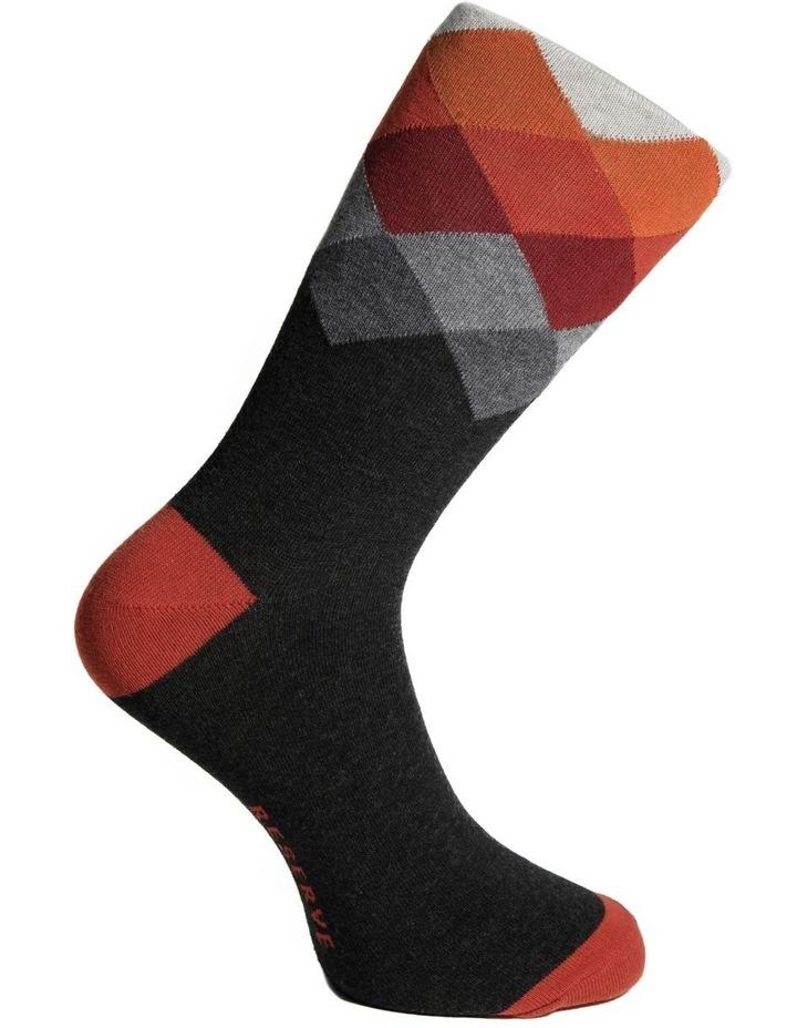 Modern Argyle Cotton Socks image 2