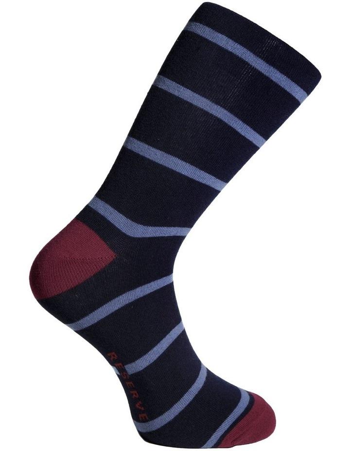 Spaced Stripe Cotton Socks image 3