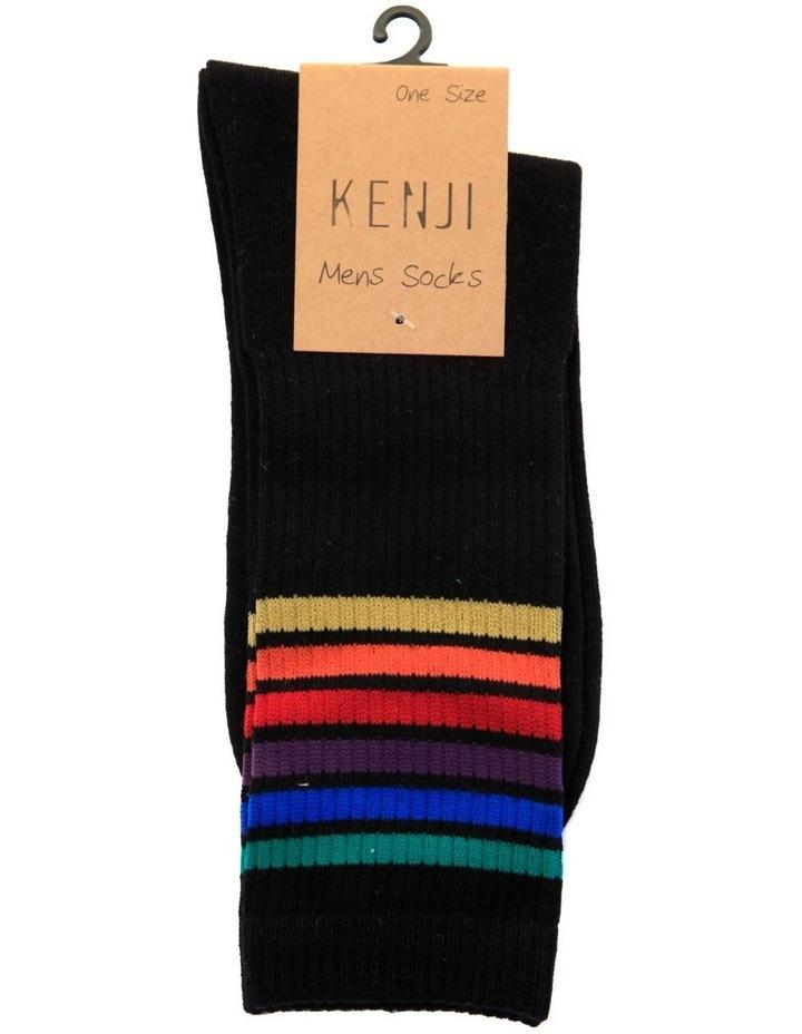 Pride Stripes Sport Crew Sock image 2