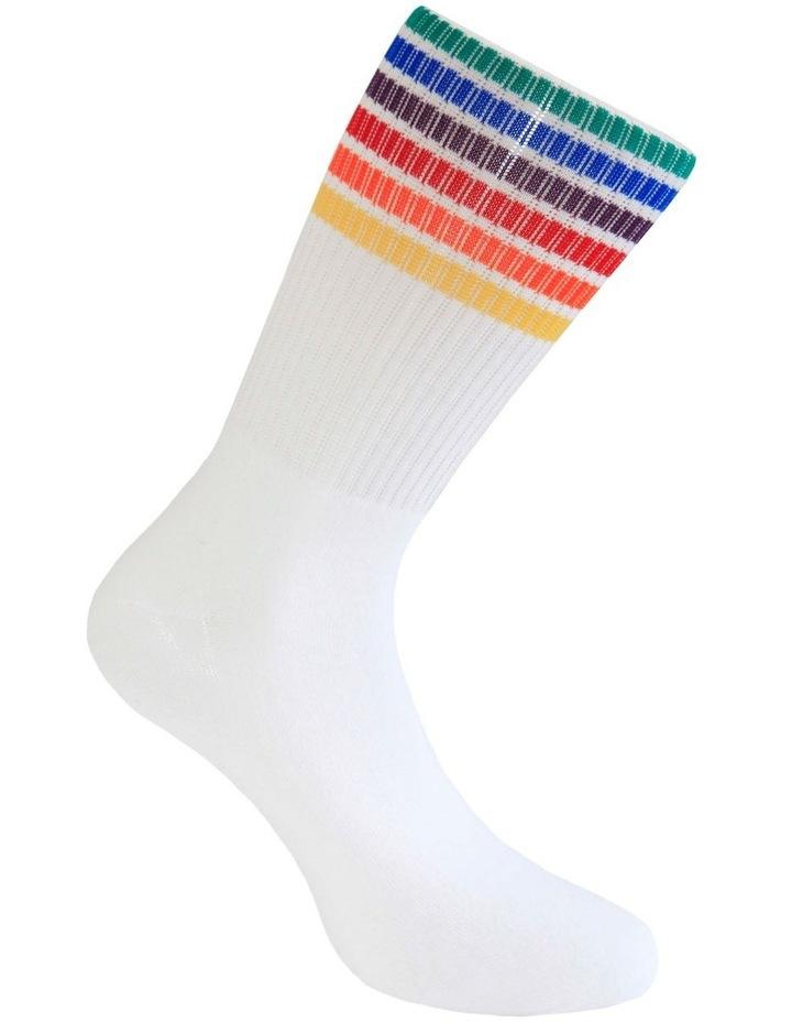 Pride Stripes Sport Crew Sock image 3