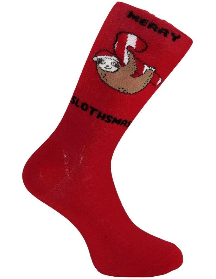 Merry Slothmas Sock image 3