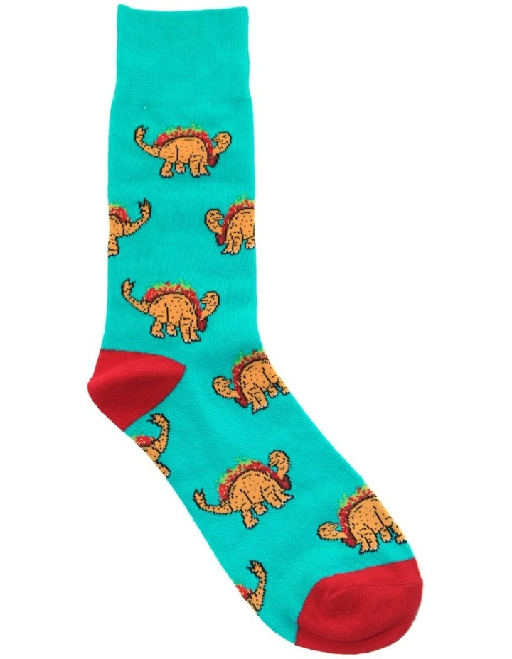 Dino Taco Sock image 1