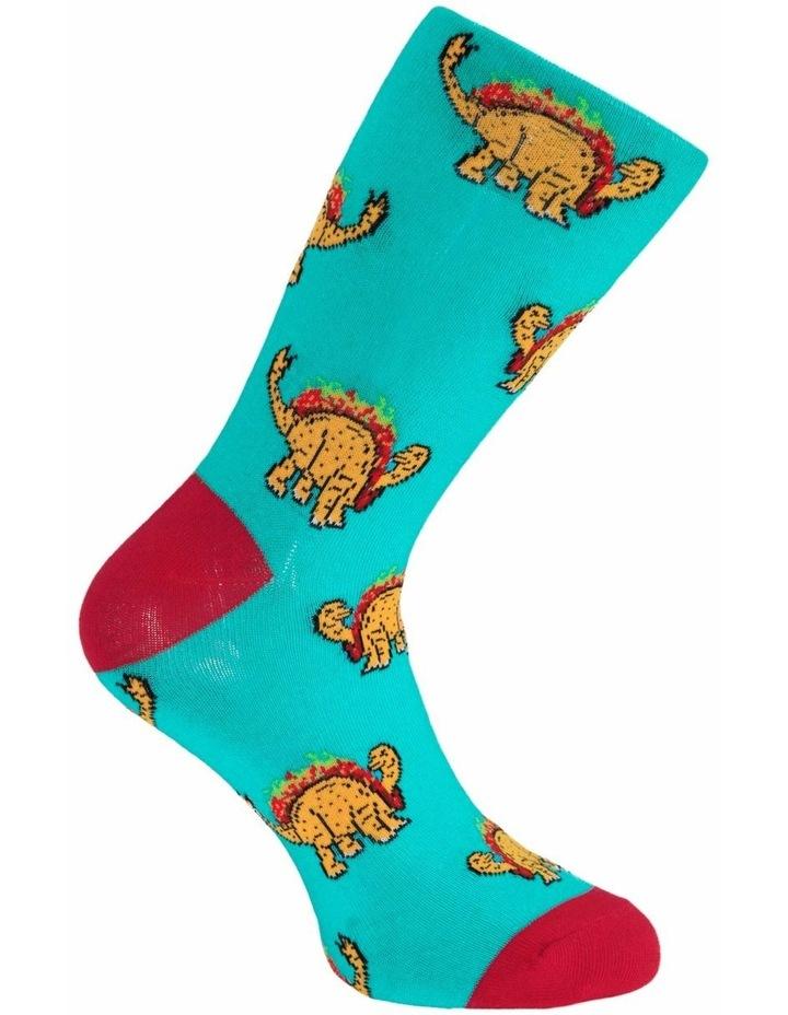 Dino Taco Sock image 3