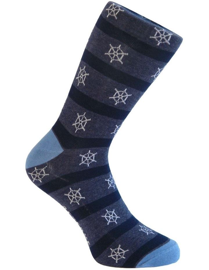 3 Pack Cotton Maritime Socks image 5