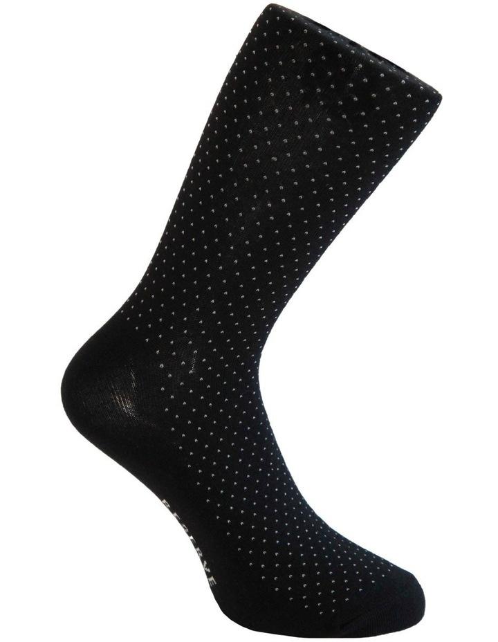 3 Pack Cotton Pinspot Socks image 3