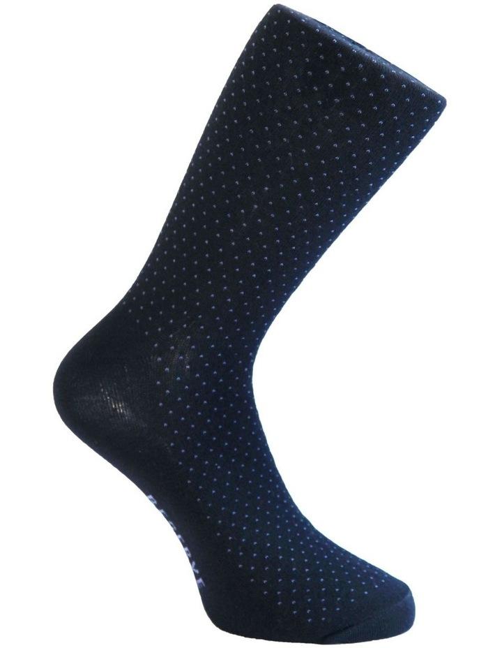 3 Pack Cotton Pinspot Socks image 4