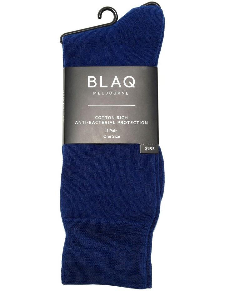 Cotton Plain Sock image 2