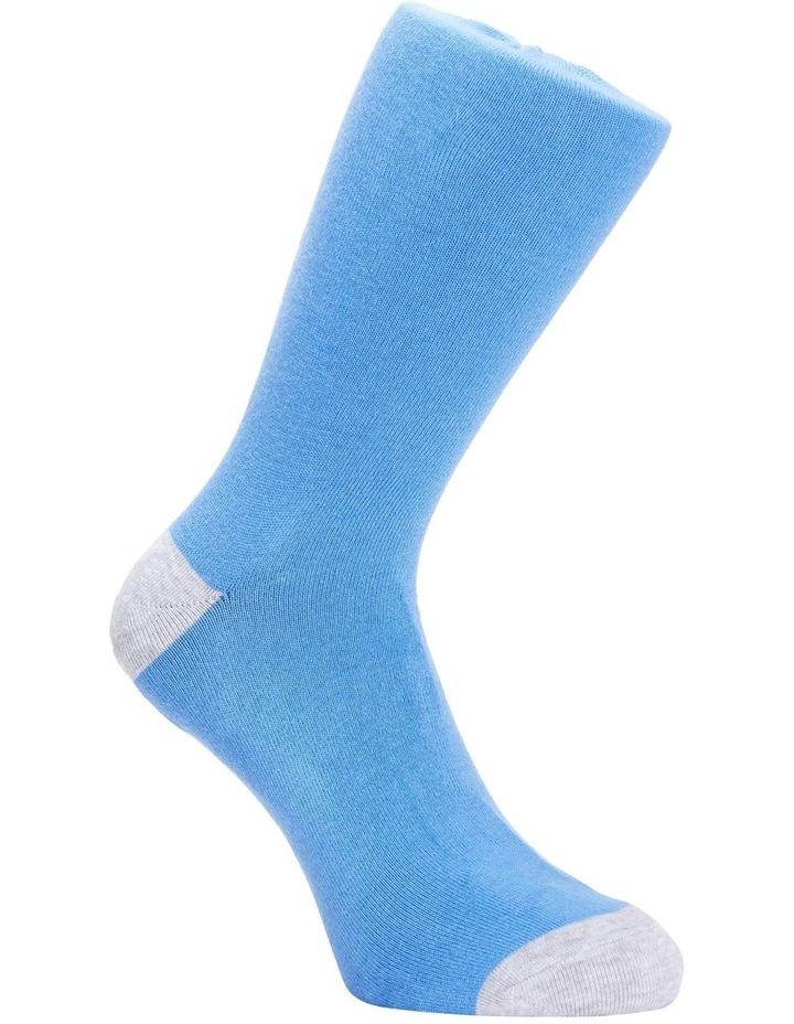 Plain Bamboo Heel & Toe Sock image 3