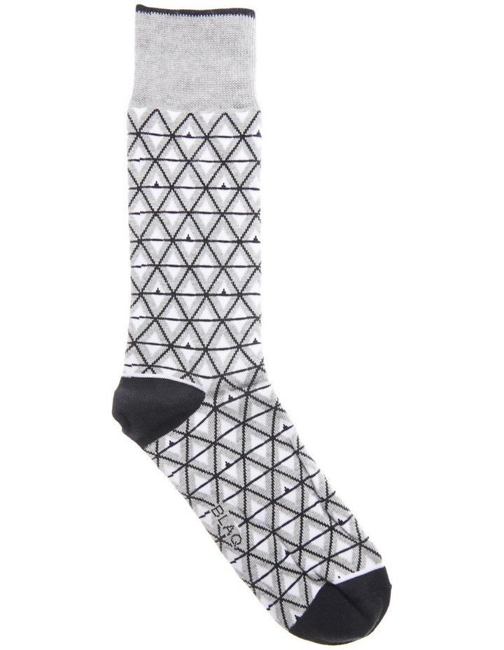 Triangle Geo Cotton Sock image 1