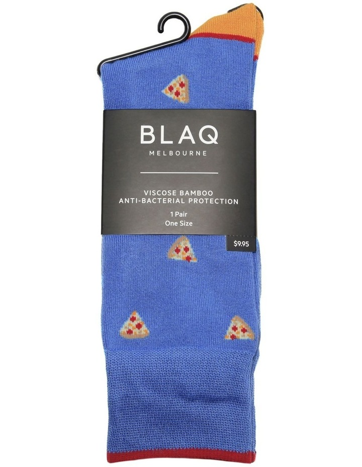 Pizza Bamboo Sock image 2