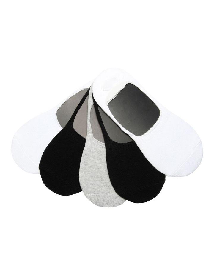 Pos 5 Pack Sneaker Liner Socks image 1