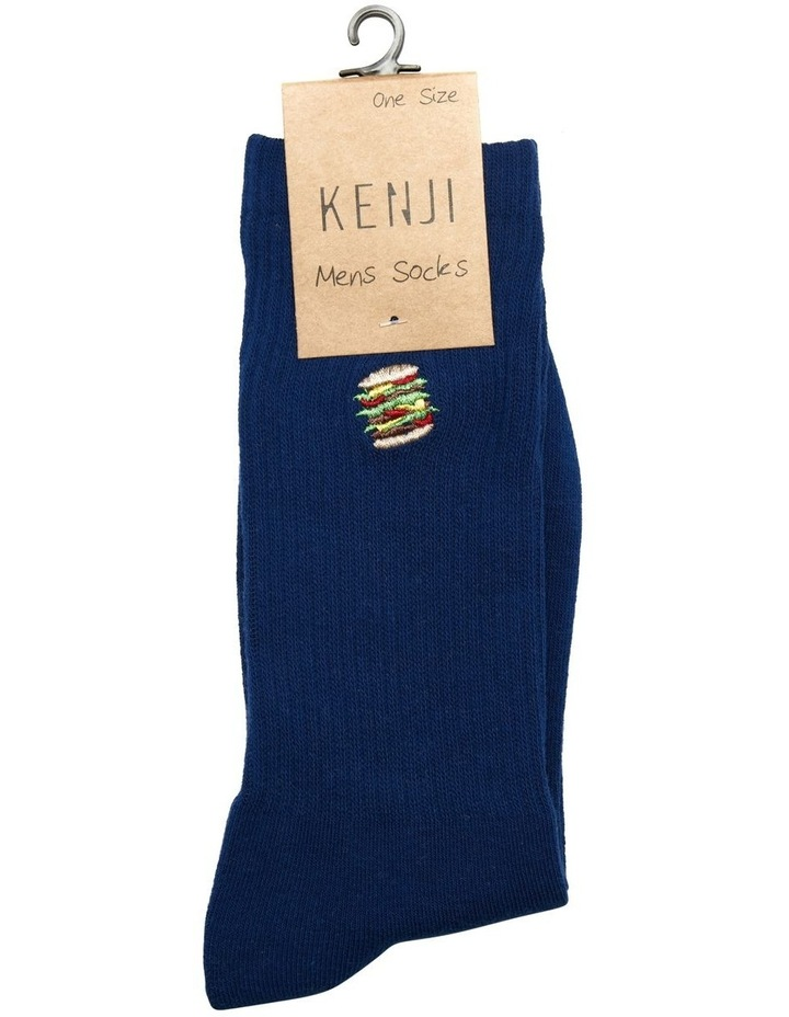 Hamburger Sports Rib Crew Sock image 2