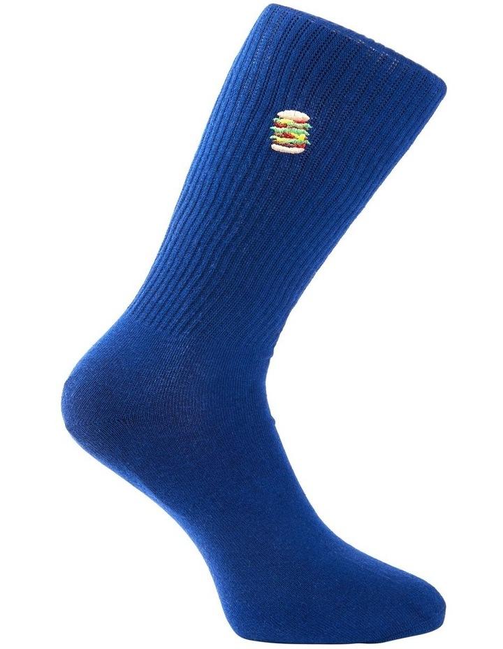 Hamburger Sports Rib Crew Sock image 3