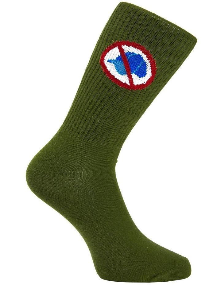 No Cap Rib Sports Sock image 3