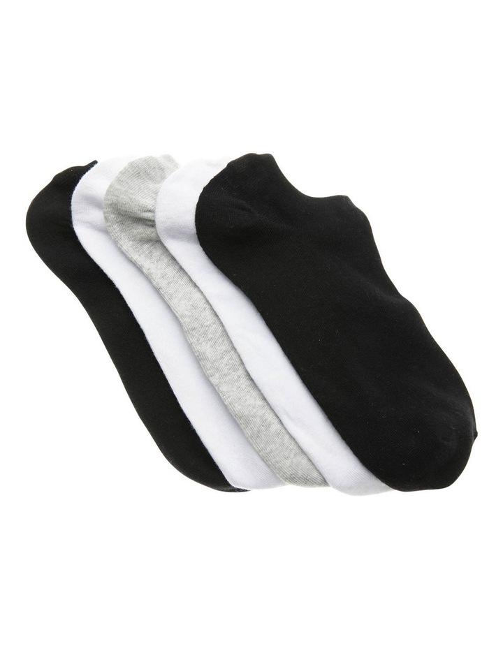 5 Pack Pos Sneaker Liner Socks image 1