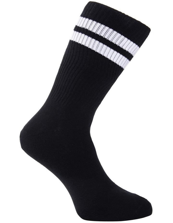 4 Pack Sports Crew Socks image 3