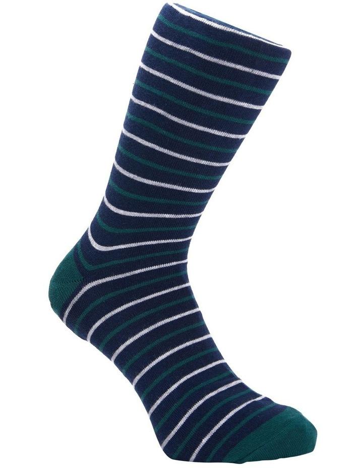 3 Pack Cotton Stripe Socks image 3