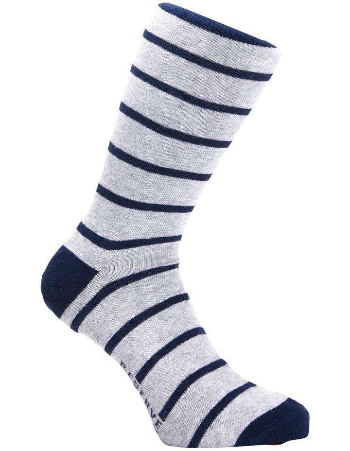 3 Pack Cotton Stripe Socks image 5