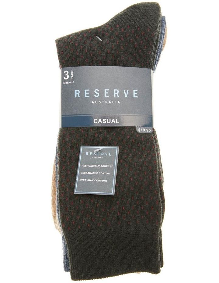 3 Pack Dash Marle Cotton Socks image 2