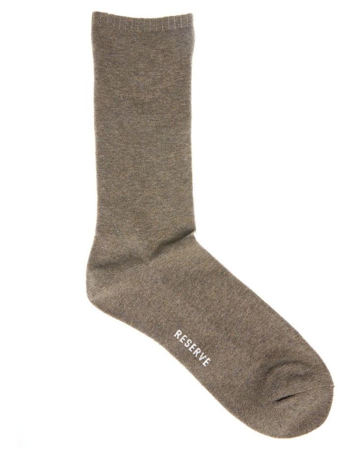3 Pack Plain Comfort Weekend Socks image 3
