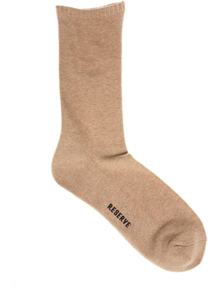 3 Pack Plain Comfort Weekend Socks image 4