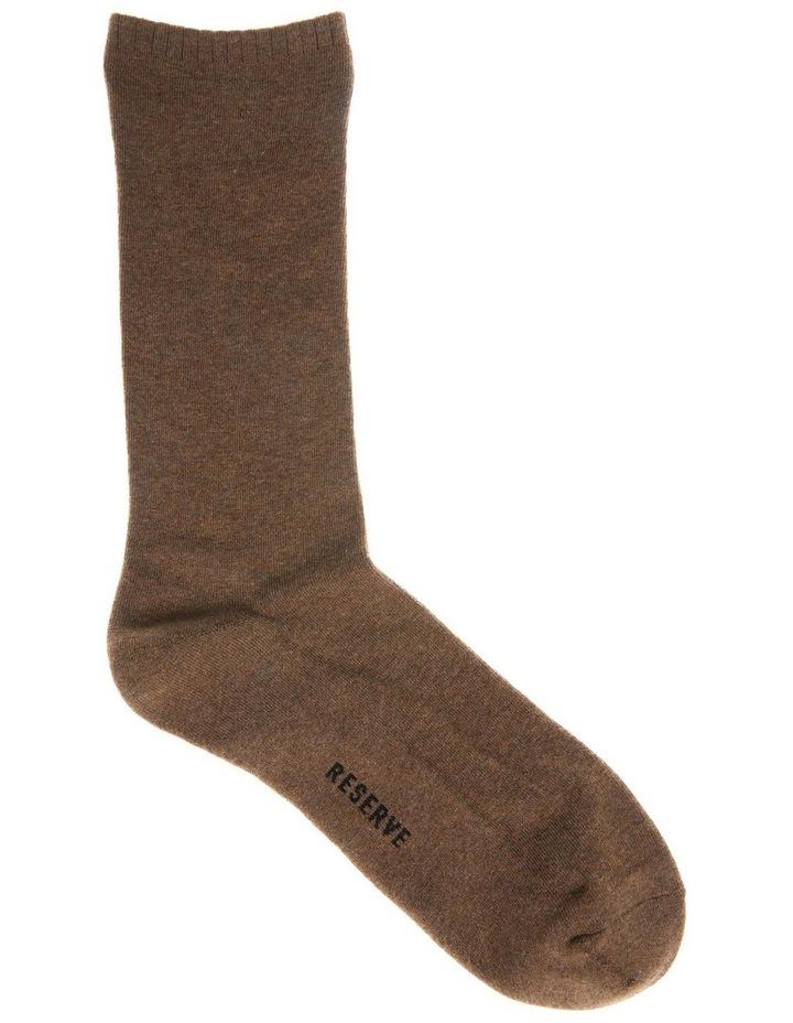 3 Pack Plain Comfort Weekend Socks image 5