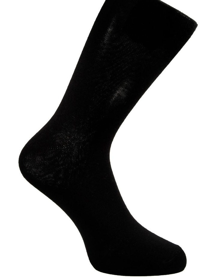 4 Pack Fine Cotton Crew Sock - King Size image 3