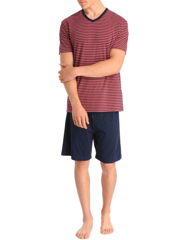 Red Stripe PJ Set image 1