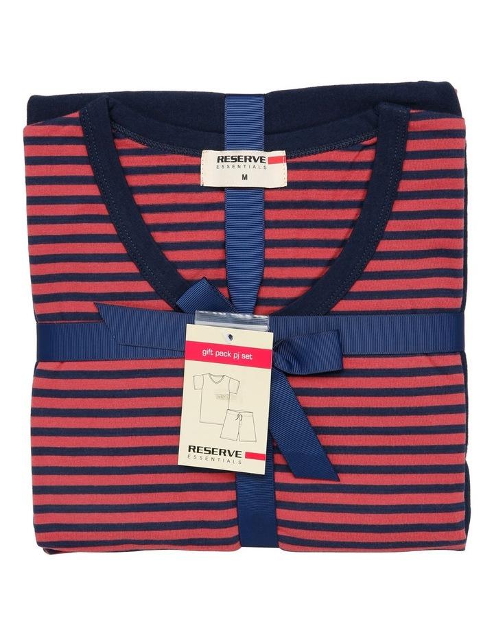 Red Stripe PJ Set image 4
