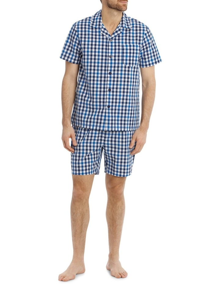 Gingham Check Poplin PJ Set image 1