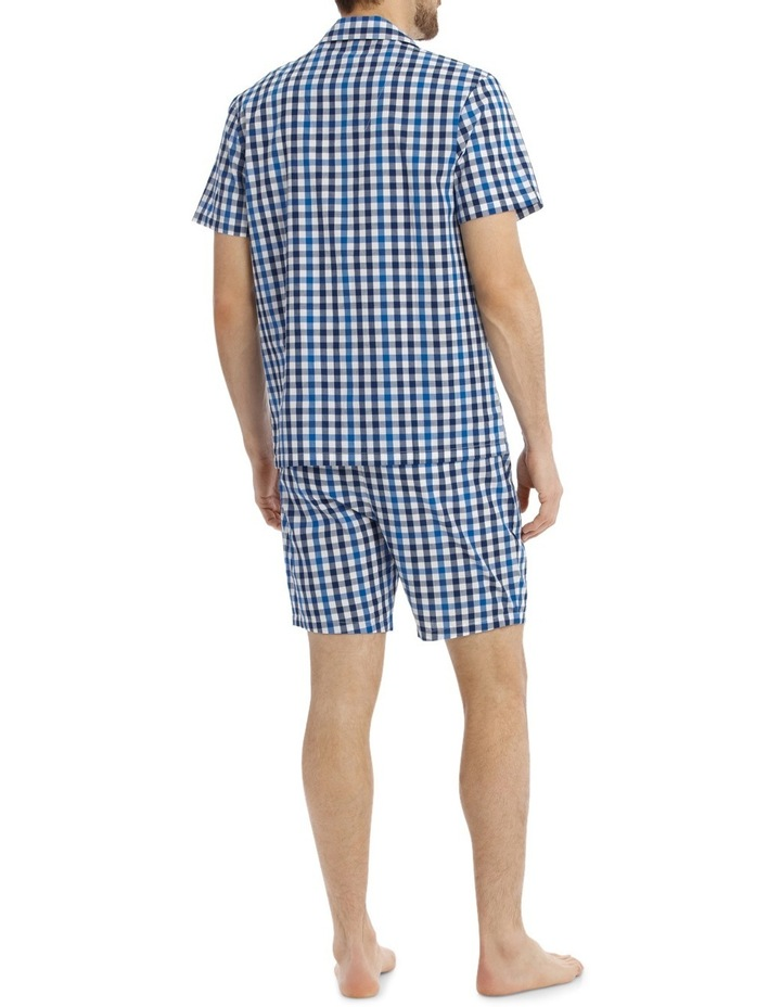 Gingham Check Poplin PJ Set image 2