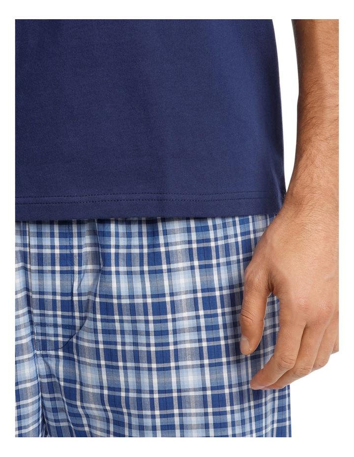 Short Sleeve Tee & Check Pant Set image 3