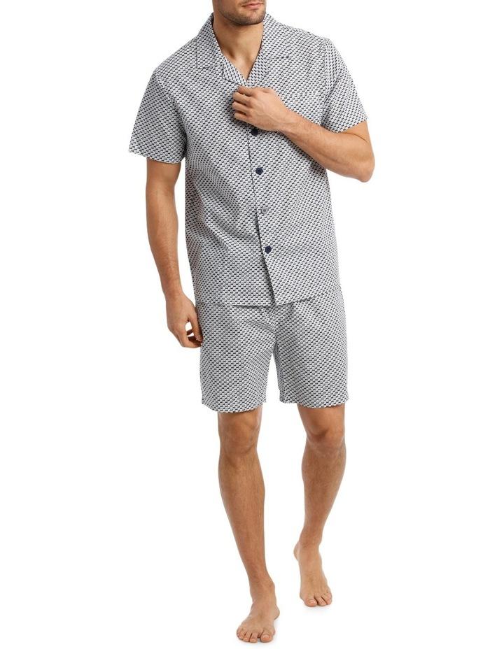 Sail Boat Short Sleeve Poplin Pyjama Set image 1