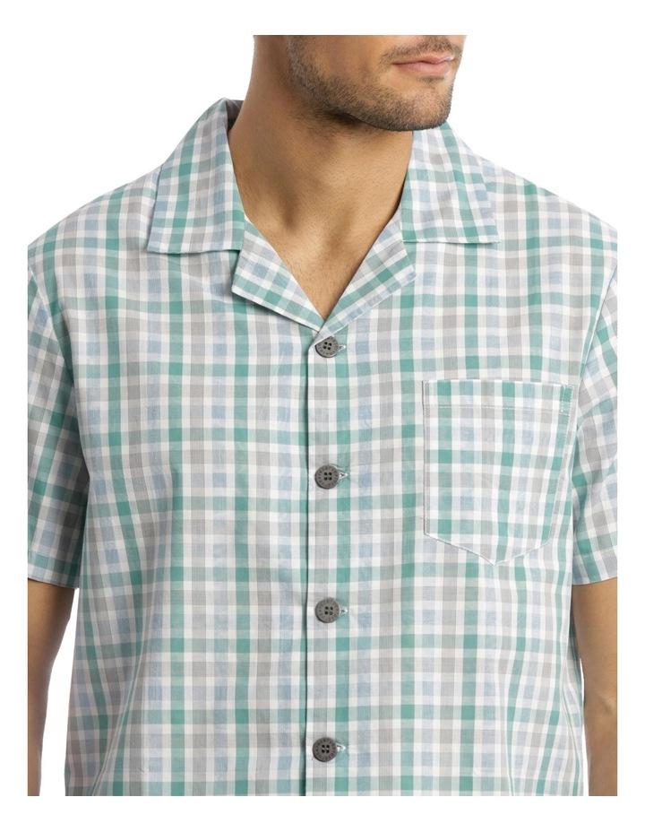 Fresh Check Poplin Pyjama Set image 3