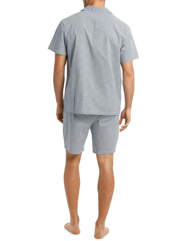 Stitch Print Short Sleeve Poplin Pyjama Set image 2