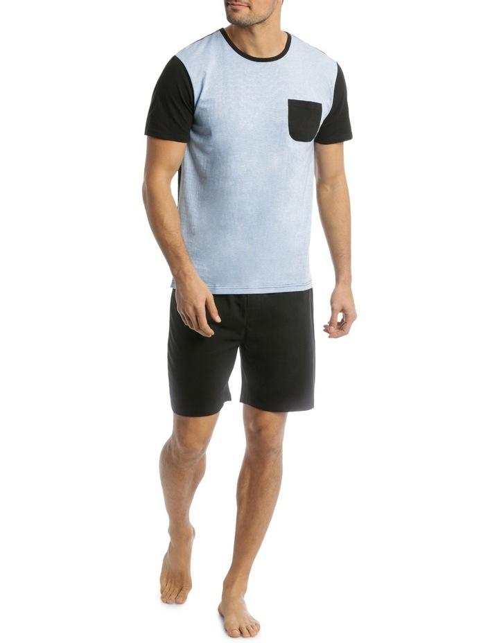 Fine Stripe Knit Pyjama Set image 1