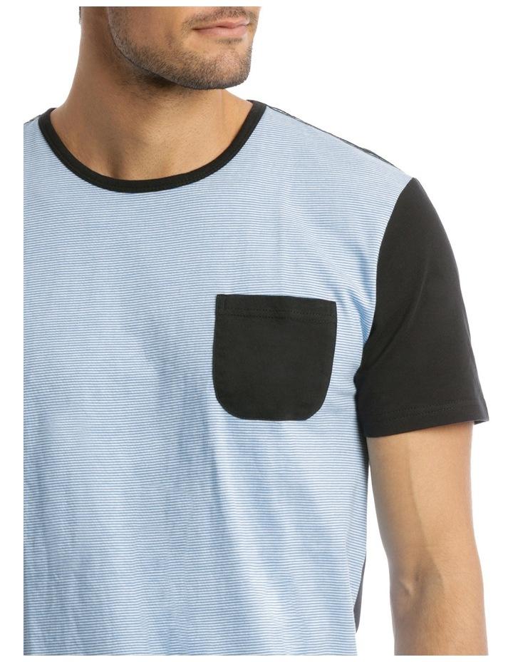 Fine Stripe Knit Pyjama Set image 3