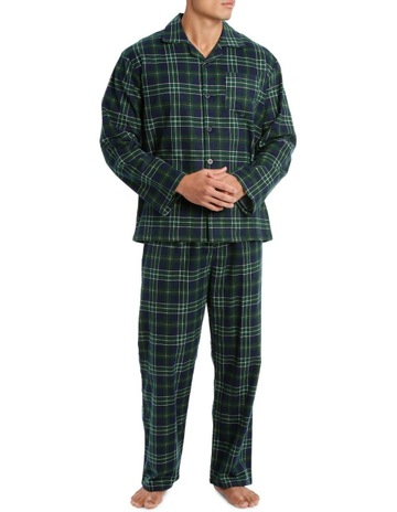 e6c9240ee3 ReserveEssentials Long Sleeve Flanelette PJ Set - Traditional Check.  Reserve Essentials Long Sleeve Flanelette PJ Set - Traditional Check