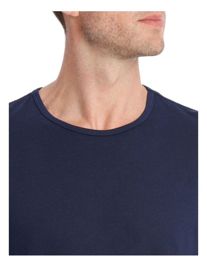 Essentials Long Sleeve Tee & Flanelette Pant PJ Set - 2 Tone Check image 3