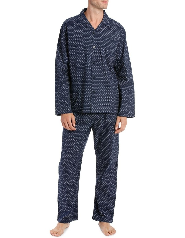 Reserve Essentials LS Poplin PJ Set - Diamond image 1