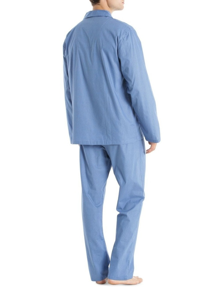 Essentials Long Sleeve Poplin PJ Set - Circles image 2