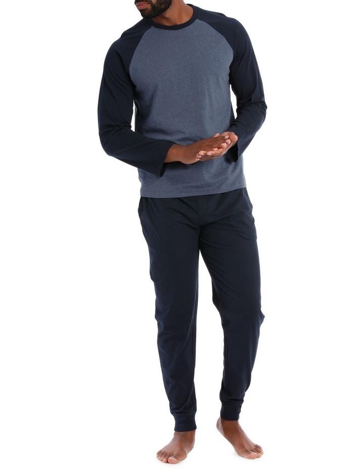 Reserve Essentials Long Sleeve Knit Jogger Pj Set image 1