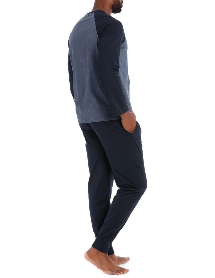 Reserve Essentials Long Sleeve Knit Jogger Pj Set image 2