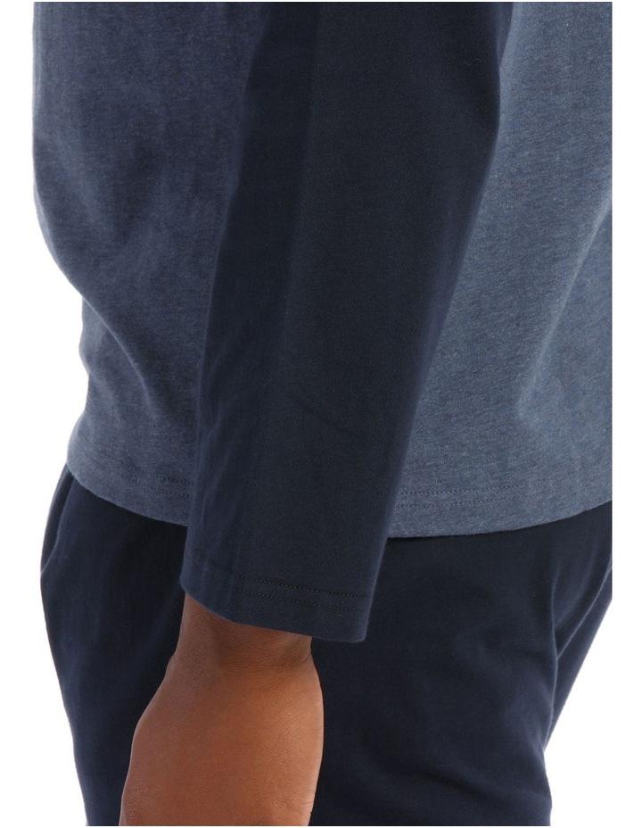 Reserve Essentials Long Sleeve Knit Jogger Pj Set image 3